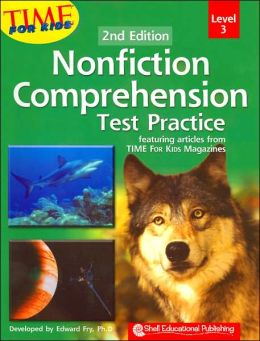 Nonfiction Comprehension Test Practice, Level 3: Featuring Articles from TIME for Kids Magazines
