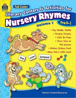 Literacy Centers and Activities for Nursery Rhymes Volume 1