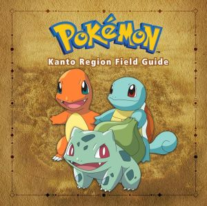 Book Pokemon Kanto Region Field Guide