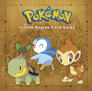 Book Pokemon Sinnoh Region Field Guide|Hardcover