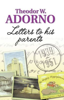 Letters to his Parents: 1939-1951