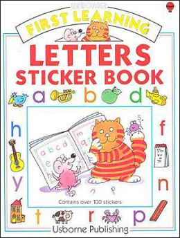 Letters Sticker Book