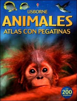 Animales Atlas Con Pegatinas (Animal Sticker Atlas)