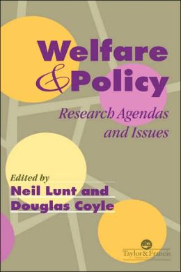 Welfare And Policy: Agendas And Issues
