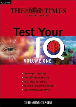 Test Your IQ CD-ROM Volume 1