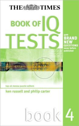 Times Book of IQ Tests, Book Four