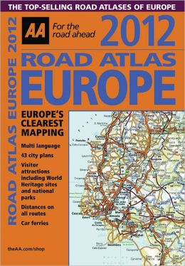 2012 Road Atlas Europe