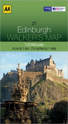 Walker's Map Edinburgh