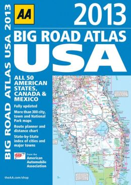 2013 Big Road Atlas USA