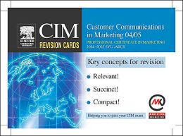 Customer Communications in Marketing 04/05