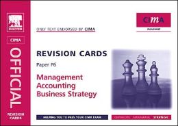CIMA Revision Cards: Business Strategy