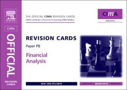 CIMA Revision Cards Financial Analysis
