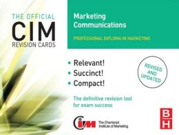 CIM Revision Cards Marketing Communications
