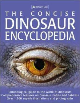 Concise Dinosaur Encyclopedia