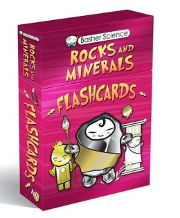 Basher Flashcards: Rocks and Minerals: A Diamond Deck