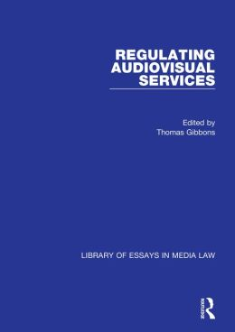 Regulating Audiovisual Services