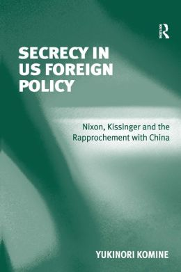 Secrecy in US Foreign Policy