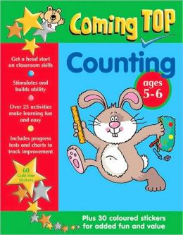 Coming Top Counting Ages 5-6: Plus 30 coloured stickers for added fun and value