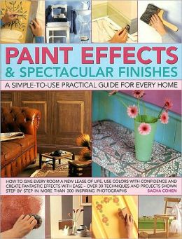 Paint Effects & Spectacular Finishes: a simple-to-use prac guide for every home: How to give every room a new lease of life, use colors with confidence and create fantastic effects with ease--over 50 techniques and projects shown step by step in more than