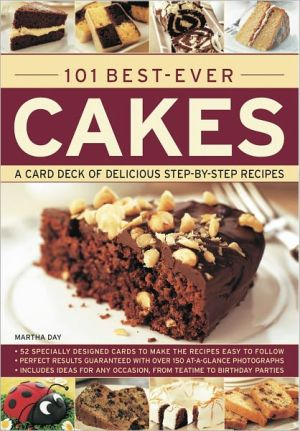 101 Best-Ever Cakes: Special stand-up cards to make the recipes easy to follow
