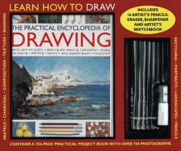 The Complete Encyclopedia of Drawing Kit: Learn How to Draw: A 256-Page Instruction Book, 15 Artist S Pencils, Eraser, Sharpener and Artist S Sketchbo