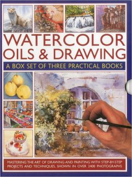 Watercolor Oils & Drawing Box Set: Mastering the art of drawing and painting with step-by-step projects and techniques shown in over 1400 photographs