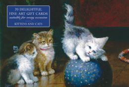 Card Box of 20 Notecards and Envelopes: Kittens and Cats