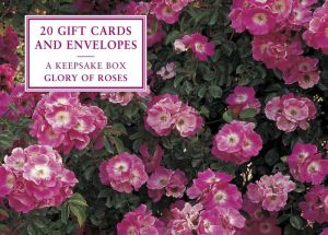 Cards: Glory of Roses (Small Dark Pink): A Keepsake Box Of Cards