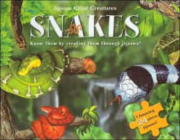 Snakes: Jigsaw Killer Creatures