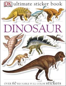 Ultimate Sticker Book: Dinosaur