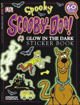 Ultimate Sticker Book: Glow in the Dark: Spooky Scooby Doo