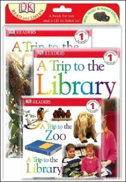 Read and Listen Books: A Trip to the Zoo/A Trip to the Library