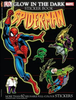 Ultimate Sticker Book: Glow-in-the-Dark: Spider-Man