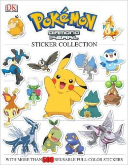 Pokemon: Diamond & Pearl Sticker Collection