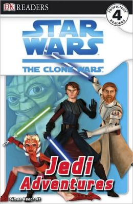 Star Wars: The Clone Wars: Jedi Adventures (DK Readers Series)
