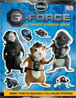 Ultimate Sticker Book: G-Force