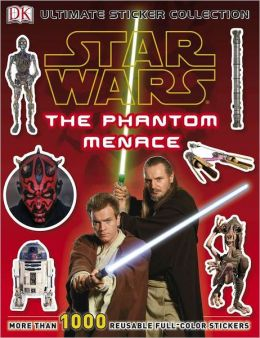 Star Wars Episode I The Phantom Menace Ultimate Sticker Collection