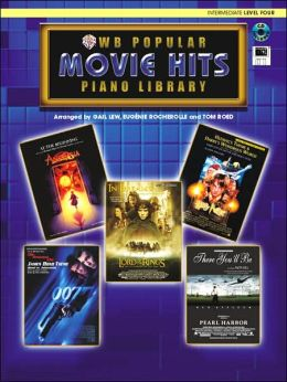 Popular Piano Library Movie Hits: Level 4, Book, CD & General MIDI Disk