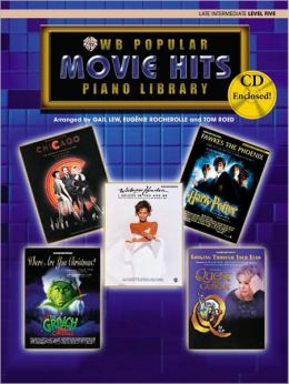 Popular Piano Library Movie Hits: Level 5, Book, CD & General MIDI Disk