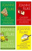 Book Cover Image. Title: Apple Turnover Murder Bundle with Key Lime Pie Murder, Cherry Cheesecake Murder, Lemon Meringue Pie Murder, and an EXTENDED excerpt of Devil's Food Cake Murder, Author: Joanne Fluke