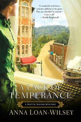A Lack of Temperance (Hattie Davish Series #1)