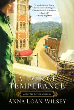 A Lack of Temperance (Hattie Davish Series #1)