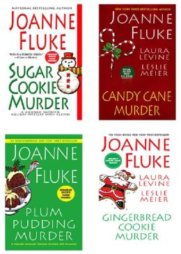 Joanne Fluke Christmas Bundle: Sugar Cookie Murder, Candy Cane Murder, Plum Pudding Murder, and Gingerbread Cookie Murder