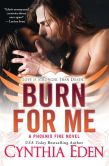 Book Cover Image. Title: Burn For Me, Author: Cynthia Eden