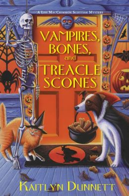Vampires, Bones and Treacle Scones (Liss MacCrimmon Series #7)