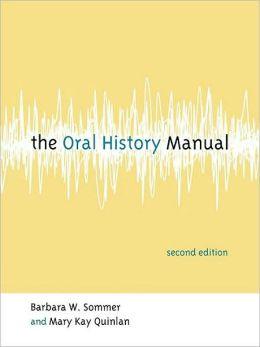 Oral History Manual