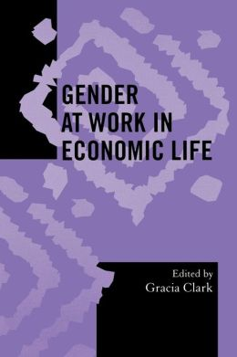 Gender At Work In Economic Life