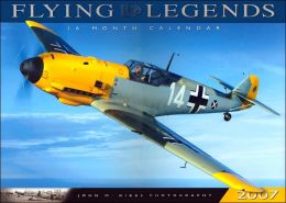 2007 Flying Legends 16 Month Wall Calendar