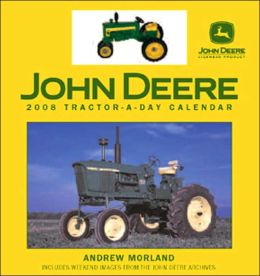 2008 John Deere Tractor-a-Day w/toy Box Calendar
