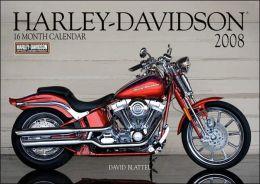 2008 Harley Davidson Wall Calendar